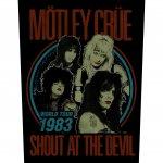 Rückenaufnäher Mötley Crüe Shout at the Devil