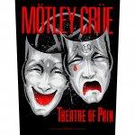 Rückenaufnäher Mötley Crüe Theatre of Pain