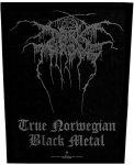 Rückenaufnäher Dark Throne Black Logo