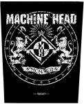 Rückenaufnäher Machine Head Vintage Logo