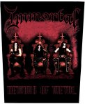 Rückenaufnäher Immortal Demons of Metal
