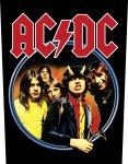 Rückenaufnäher AC/DC Highway to Hell