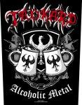 Rückenaufnäher Tankard Alcoholic Metal