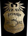 Rückenaufnäher Tankard Wappen