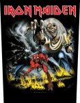 Rückenaufnäher Iron Maiden Number of the Beast