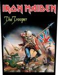 Rückenaufnäher Iron Maiden The Trooper