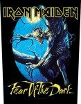 Rückenaufnäher Iron Maiden Fear of the Dark