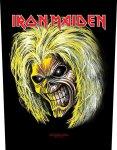 Rückenaufnäher Iron Maiden Killers Face