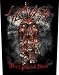 Rückenaufnäher Slayer World Painted Blood