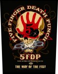 Rückenaufnäher Five Finger Death Punch The Way of the Fist