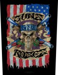 Rückenaufnäher Guns 'n' Roses Skull Flag