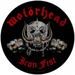 Rückenaufnäher Motörhead Iron Fist