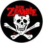 Rückenaufnäher Rob Zombie Skull