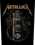 Rückenaufnäher Metallica Hetfield Guitar