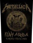 Rückenaufnäher Metallica Bay Are Thrash