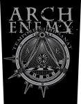 Rückenaufnäher Arch Enemy Illuminati