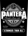 Rückenaufnäher Pantera Stronger than all