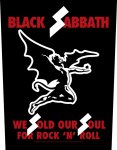 Rückenaufnäher Black Sabbath We sold our Soul...