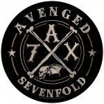 Rückenaufnäher Avenged Sevenfold 7AX