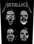 Rückenaufnäher Metallica Undead