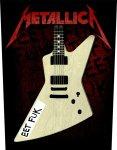 Rückenaufnäher Metallica Eet Fuk