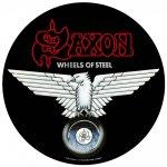 Rückenaufnäher Saxon Wheels of Steel ( rund )