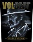 Rückenaufnäher Volbeat Outlaw Gentlemen