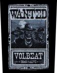 Rückenaufnäher Volbeat Wanted