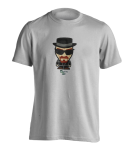 T-Shirt Breaking Bad Heisenberg Minion ( white )