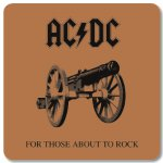 Untersetzer AC/DC For those about to Rock