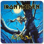 Untersetzer Iron Maiden Fear of the Dark