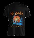 T-Shirt Def Leppard Pyromania XL