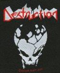 kleiner Aufnäher Destruction Skull