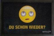 Fußmatte Emoji - Du schon wieder ?