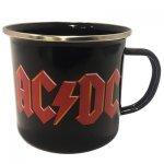 Tasse ( Blech ) AC/DC Logo