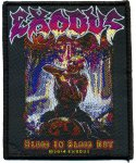 kleiner Aufnäher Exodus Blood in, Blood out