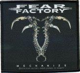 kleiner Aufnäher Fear Factory Mechanize