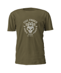 T-Shirt Five Finger Death Punch Army ( Kaki )