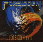 kleiner Aufnäher FORBIDDEN Forbidden Evil