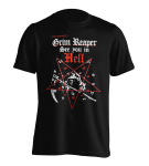 T-Shirt Grim Reaper See you in Hell