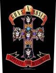 Rückenaufnäher Guns'n Roses Appetite for Destruction