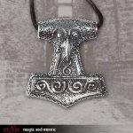 Kette Thors Hammer Crested ( Edelstahl )