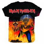 T-Shirt Iron Maiden Number of the Beast all over print XXL