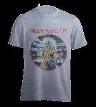 T-Shirt Iron Maiden Killers ( grey )