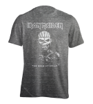 T-Shirt Iron Maiden Book of Souls Burnout grey