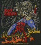 kleiner Aufnäher Iron Maiden Number of the Beast