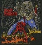 kleiner Aufnäher Iron Maiden Number of the Beast