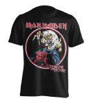 T-Shirt Iron Maiden Number of the Beast 82er Retro Print L