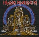 kleiner Aufnäher Iron Maiden Powerslave