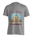 T-Shirt Iron Maiden Powerslave Egypt ( grey )
